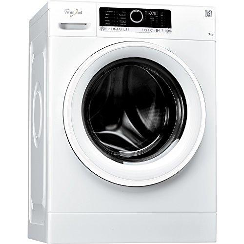 Whirlpool FSCR70210, Lavatrice a libera installazione a carica frontale, 7kg, 1200Giri/min, A+++, Bianco