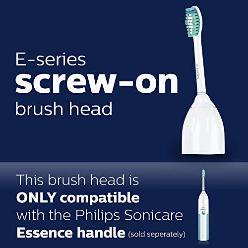 Philips Sonicare HX7022/66 Genuine E-Series replacement toothbrush heads, 2-pk