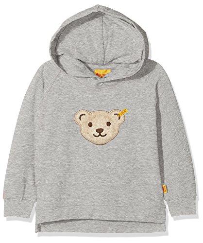 Steiff Steiff Baby-Jungen 1/1 Arm Sweatshirt, Grau (Snow Grey Melange Gray 8359), 62