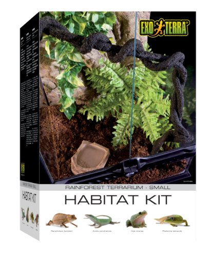 Exo Terra Rainforest Habitat Kit (includes PT2602) - Small