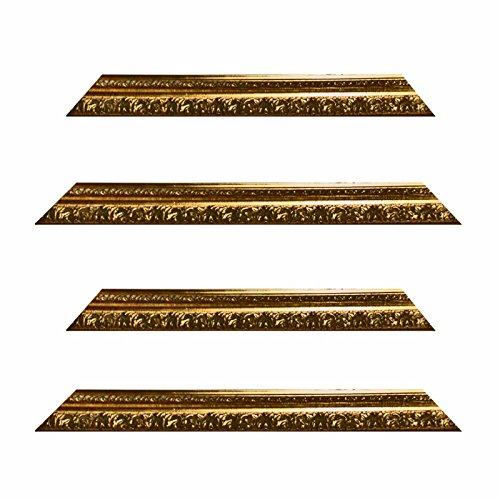 Barokke frame 10942, oro goud versierd, serie 991, als op maat gesneden, lege lijst, wissellijst of spiegel. 61x91 cm Snijden