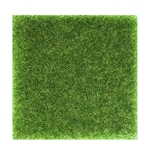 Künstliche Rasen Gras Miniatur Garten Verzierung Kunstrasen für Miniatur-Ornament, Garten, Puppenhaus, Gras zum Basteln
