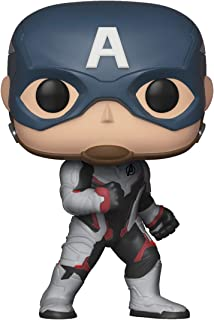 Funko Pop! Marvel: Avengers Endgame - Captain America, Multicolor