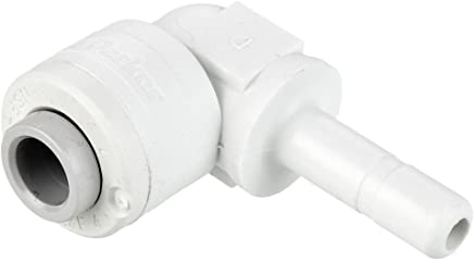 Parker W369PLP-8-8R Composite Push-to-Connect Fitting Tube to Pipe Push-to-Connect and NPT 90 Degree Elbow 1//2 1//2