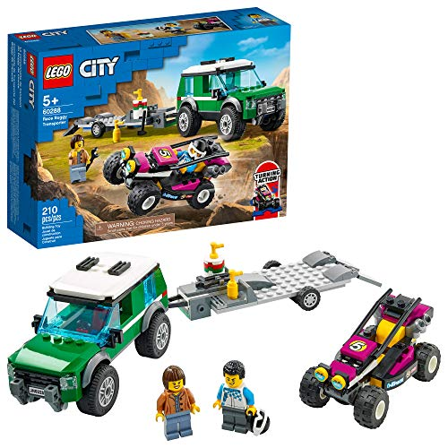 LEGO City Race Buggy Transporter 60288 Building Kit; Fun Toy for Kids, New 2021 (210 Pieces)