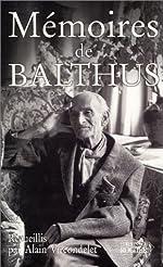 Mémoires de Balthus de Balthus