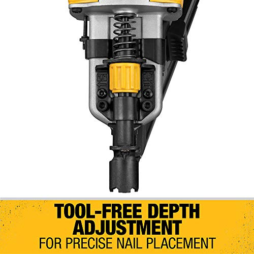 DEWALT 20V MAX Framing Nailer Kit, 30-Degree, Paper Collated (DCN692M1)