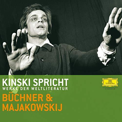 Kinski spricht Büchner und Majakowski Titelbild