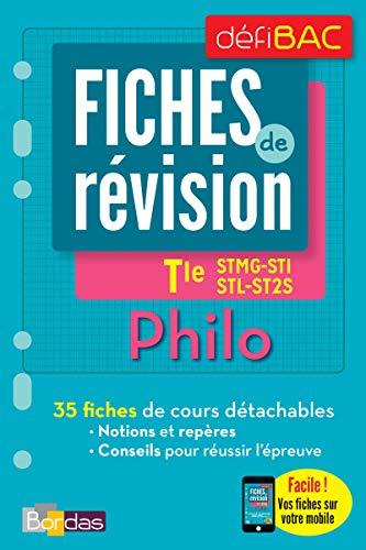 Defibac Fiches De Revision Philosophie Tles Stmg Sms St2s Stl Offert Vos Fiches Sur Votre Mobile