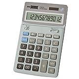 アデッソ ビッグディスプレイ卓上電卓 12桁税計算 D-9012