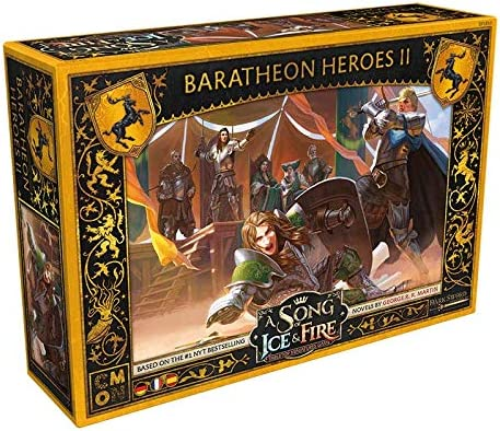 Asmodee service A Song of Ice Super Special SALE held Fire Expa Haus Baratheon - Heroes II