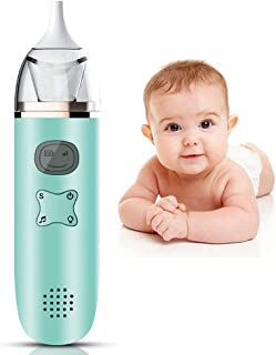 Electric Snotsucker - Baby Nasal Aspirator for Sleeper - Automatic Snot Sucker for Baby - Rechargeable Battery Powered Nos...
