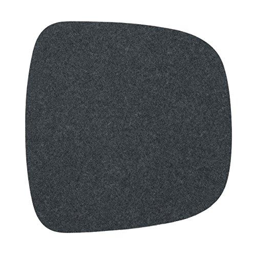 ikarus Sitzkissen 1-lagig anthrazit passend für Eames Armchair