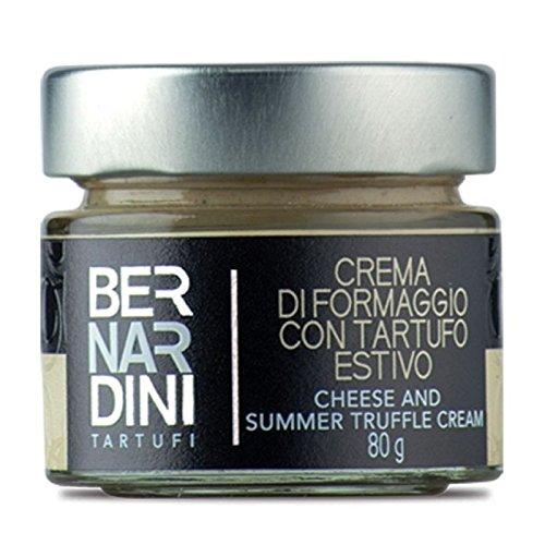 Bernardini Tartufi Crema de Queso Gorgonzola y Trufa de Verano - 80 gr