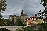 N\A Children Games Jigsaws Jigsaw For Kid Castles Czech Republic Loket Castle Karlovy Vary Adult Jigsaw Puzzle 1000 Pieces Puzzle