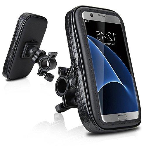 DaoRier Waterproof Bike Housse de vélo de moto Protective ABS Support de téléphone mobile portable universel Support de vélo Imperméable à l'eau pour iPhone 6 6s Samsung Galaxy Note1 2 lumia 920