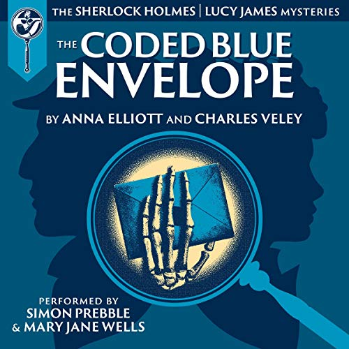 The Coded Blue Envelope cover art