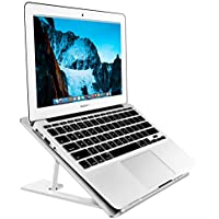 Soundance Portable Ergonomic Desktop Holder Laptop Stand (Silver)