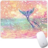 Marphe Mouse Pad Mousepad Non-Slip Rubber Gaming Mouse Pad Rectangle Mouse Pads for Computers Laptop (Mermaid Tail)