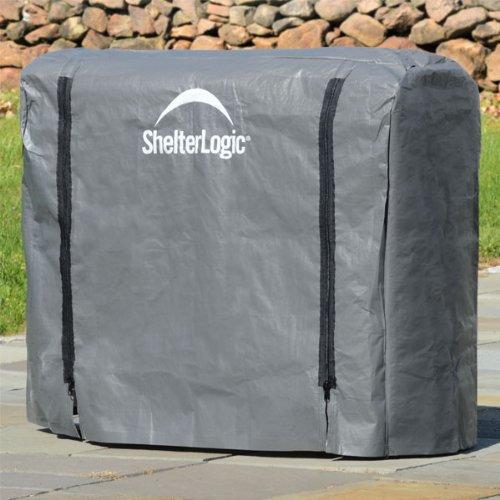 Best Price Shelterlogic Firewood Rack Cover, Full Length - 4ft - 90477