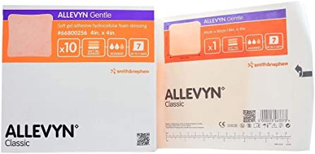 Allevyn Smith and Nephew 66800256 Gentle Gel Dressing 4