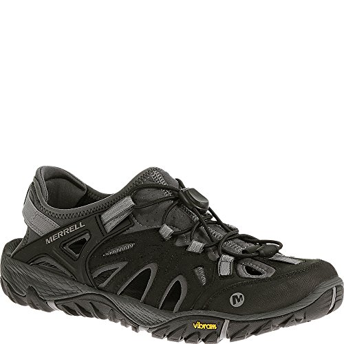 Merrell Men's All Out Blaze Sieve Water Shoe, Black/Wild Dove, 9.5 M US
