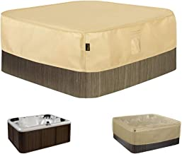 HENTEX Square Hot Tub Cover Outdoor SPA Covers (82