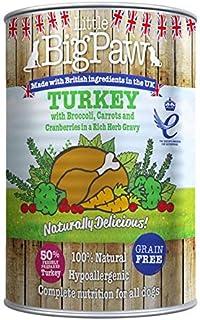 Little Big Paw Dog Wet Food Turkey Flavor 390g