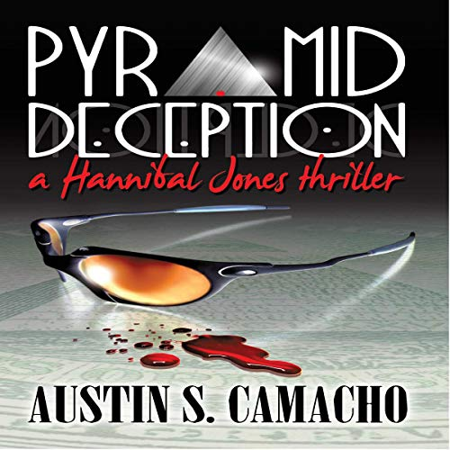 Pyramid Deception audiobook cover art