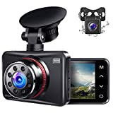 Best Car Dash Cameras - Ainhyzic Dash Cam Front and Rear Dual Dash Review