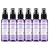 Dr. Bronner's - Organic Hand Sanitizer Spray (Lavender, 2 ounce, 6-Pack) - Simple and...