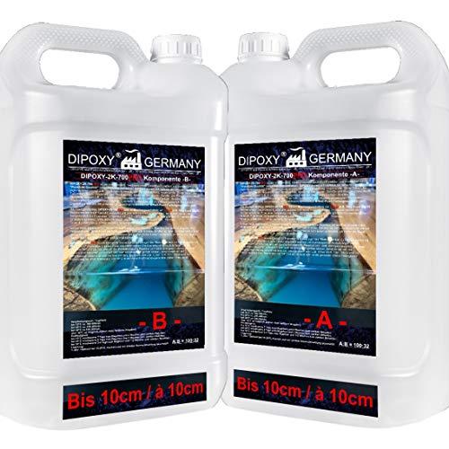 DIPOXY-2K-700 PRO Epoxidharz kristallklar, 10,5 kg