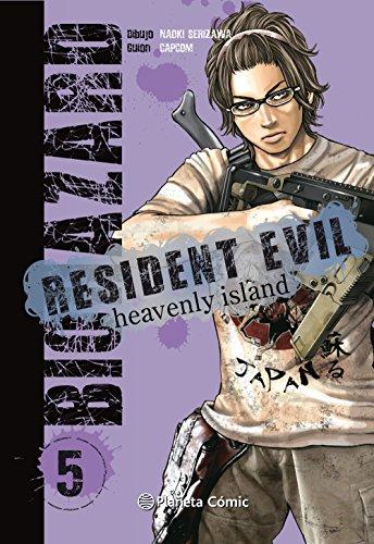 Resident Evil Heavenly Island nº 05/05 (Manga Seinen)