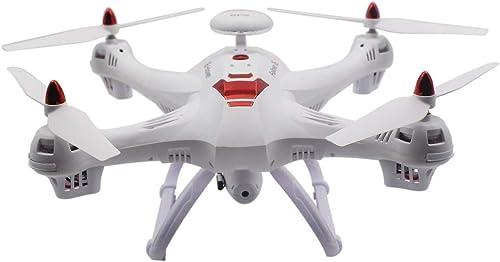 Gugutogo Drohne Mit Kamera Drohne X183 Professionelle H  Halten Dual GPS Quadrocopter mit 720P Kamera (Weiß