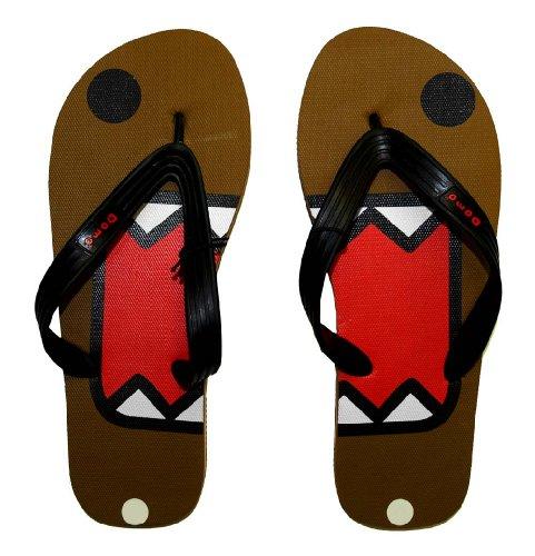 Domo-Kun Domo Face Flip Flops Sandals | M