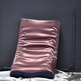 Memoria de Almohadas de látex Almohada Doble Lucha for Proteger la Columna Cervical Almohada (Single Pack) (Color : Pillow H, Size : 30cmX50cm)