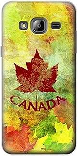 R2523 Canada Autumn Maple Leaf Case Cover For Samsung Galaxy J3 (2016)