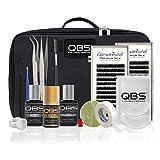 QBS Kit de iniciación profesional para pestañas de seda Loventure