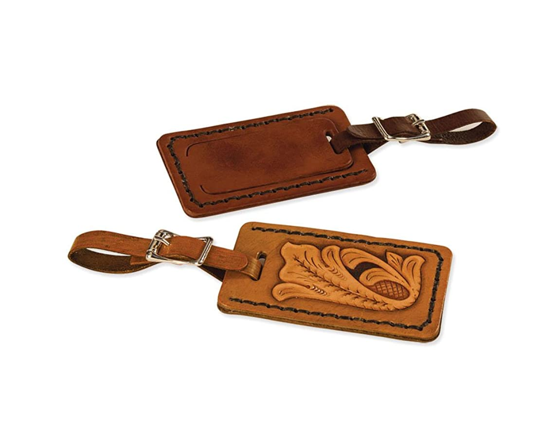 Tandy Leather Luggage Tag Kit 44167-00