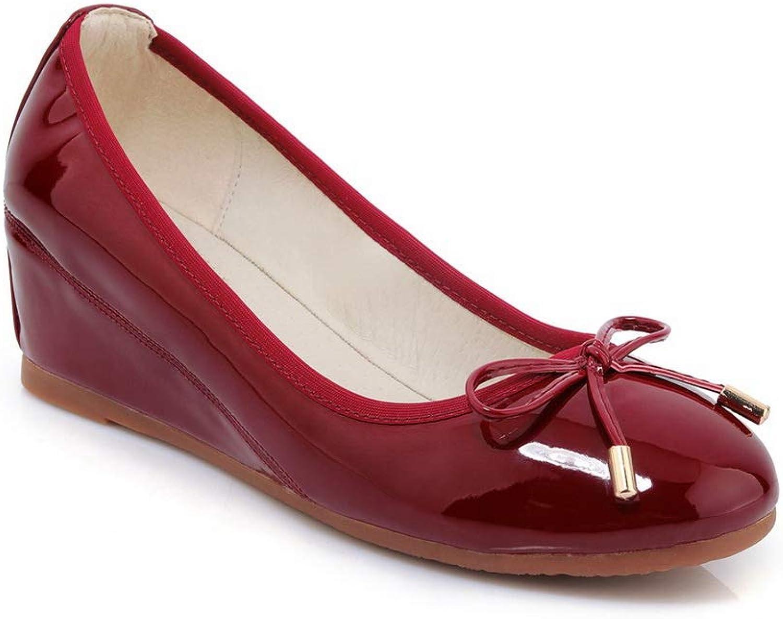 AdeeSu Womens Dance-Ballroom Bows Casual Urethane Pumps shoes SDC05971