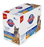 Hill's Science Plan - Cat Feline Pouches - Wet Food - Mature Adult 7+ - Chicken & Fish in Gravy (12 Pouches)