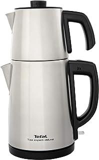 Tefal BJ5098TR Tea Expert Deluxe 1650 Watt Paslanmaz Çelik - Inox Demlikli Çay Makinesi [Gri] -9100036096