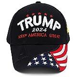 Trump 2024 Hat,Donald Trump Hat 2024 MAGA Keep America Great Hat Embroidered Adjustable Baseball Cap