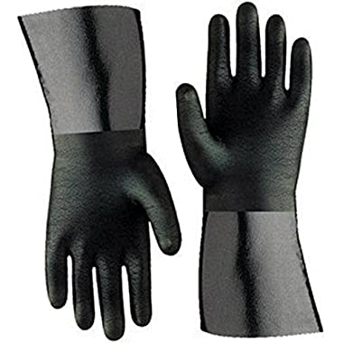Artisan Griller 12  Heat Resistant Insulated Neoprene Gloves For Smokers, Fryers & Grills For Cooking & Handling Turkey Fryers, BBQ's, Pulling Pork, Home Brew Tasks. Includes 2-12  glove