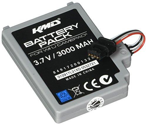 KMD 3000mAh Rechargable Internal Battery Pack for Nintendo WiiU