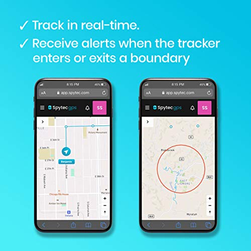 Spytec GPS GL300 GPS Tracker for Vehicles, Cars, Trucks, Equipment and Asset Tracker for Business, Loved Ones and Real-Time Fleet Tracking and Management with App and