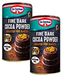 2 pasteles de cacao oscuro fino para hornear 190 g