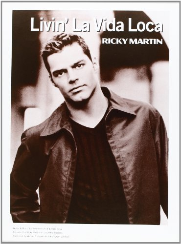 Martin Ricky Livin\' La Vida Loca Piano Vocal Guitar Partition