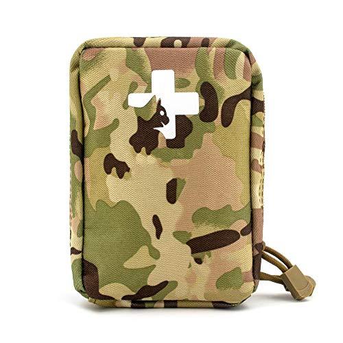 Yuan Ou Trousse de Secours Pet First Aid Kit Survival Kit Military Dog Emergency Set Bag Medicine Organizer 16 * 12 * 6.5cm Camo