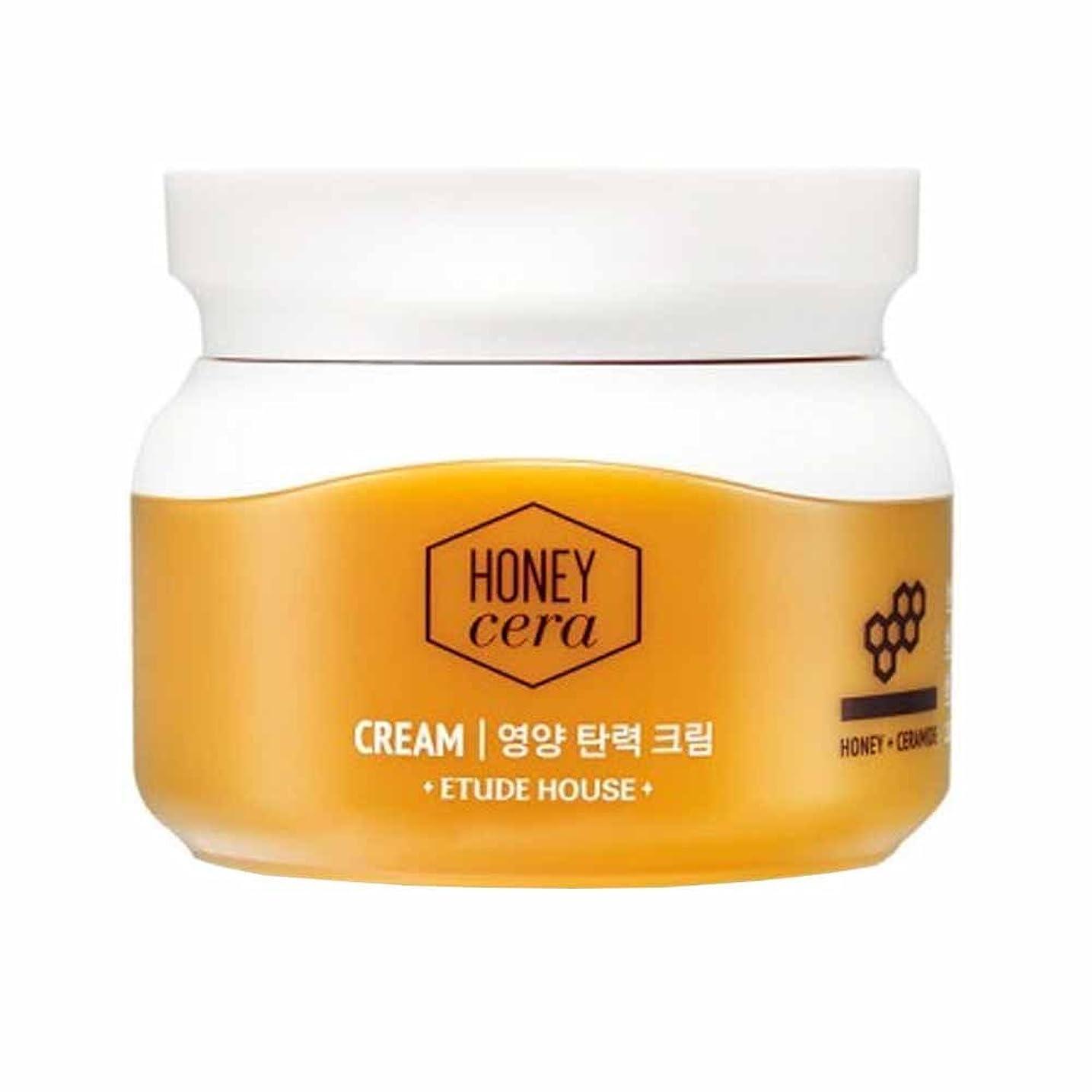 どこにも楽しませる後悔ETUDE HOUSE Honey Cera Cream (並行輸入品)